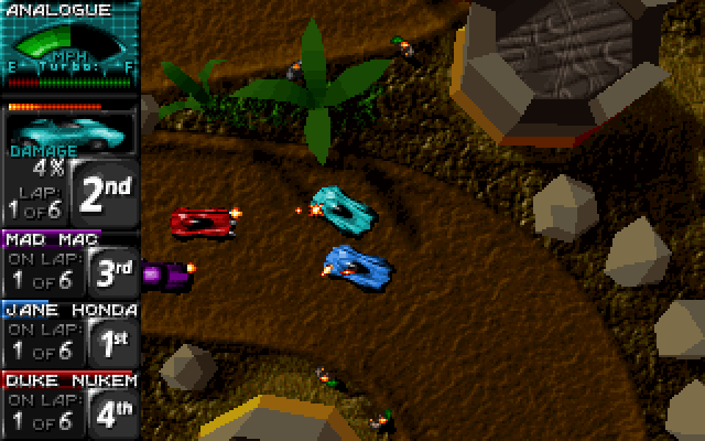 Death Rally screenshot