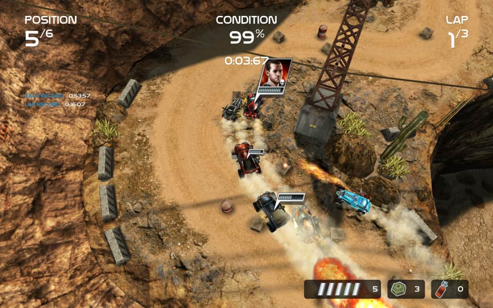 Death Rally (from 2012) screenshot