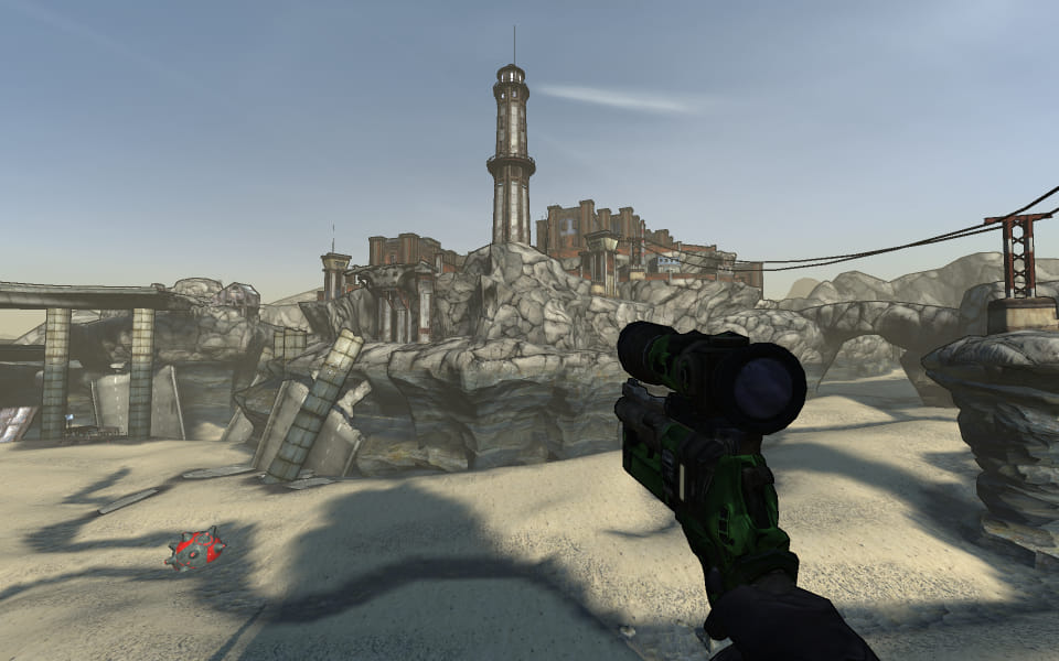 Screenshot from Sunken Sea, part of the General Knoxx DLC