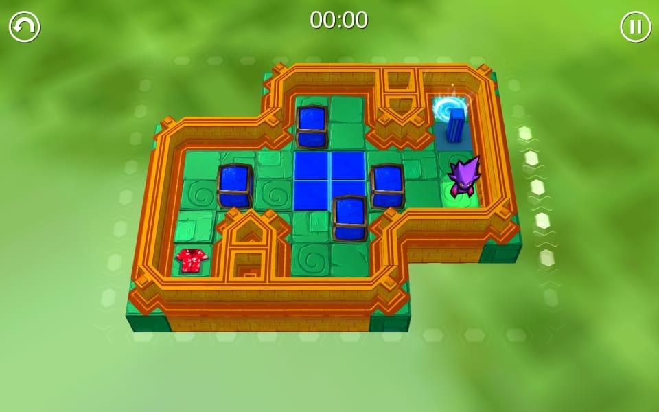 Screenshot of Chuck's Challenge 3D