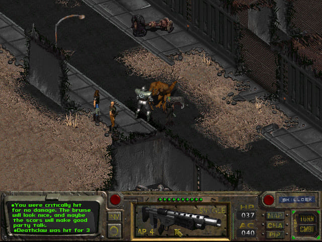 Screenshot from Fallout
