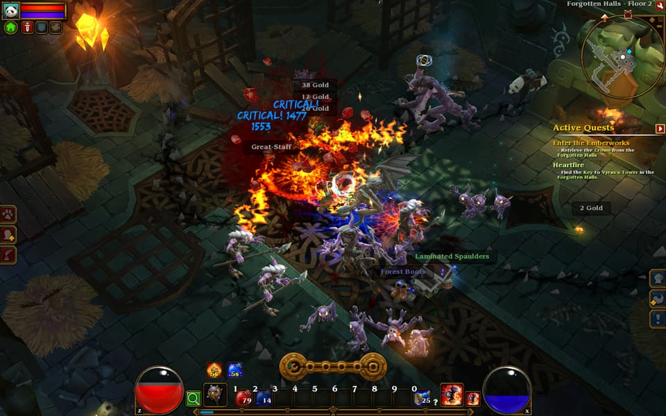 Screenshot of Torchlight II.