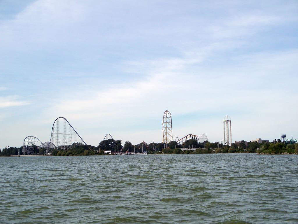 Cedar Point Skyline, from Flickr user Andrew 94