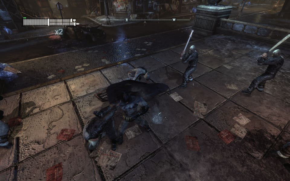 Screenshot of Batman: Arkham City.